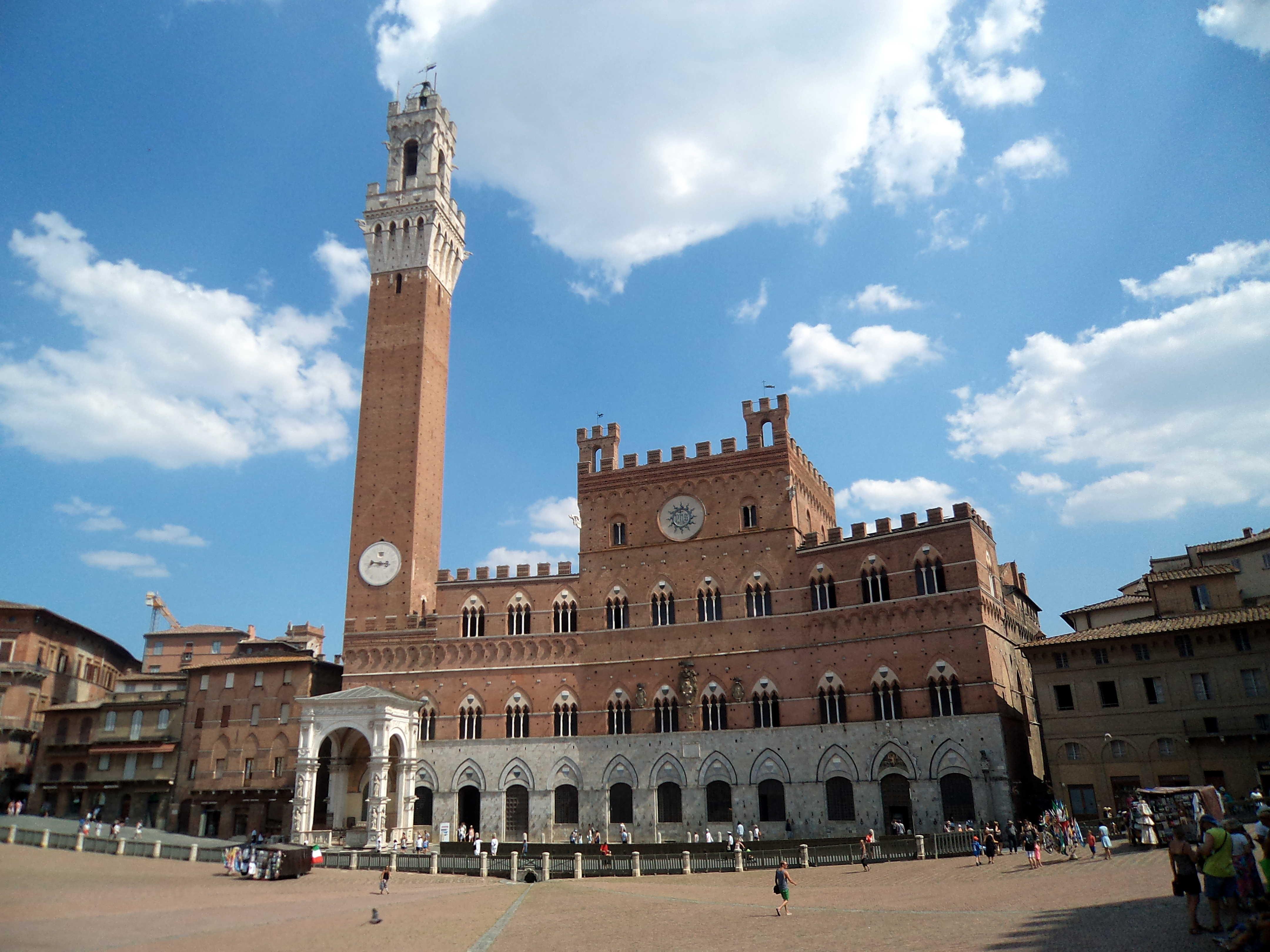 Siena – słoneczna przechadzka po mieście