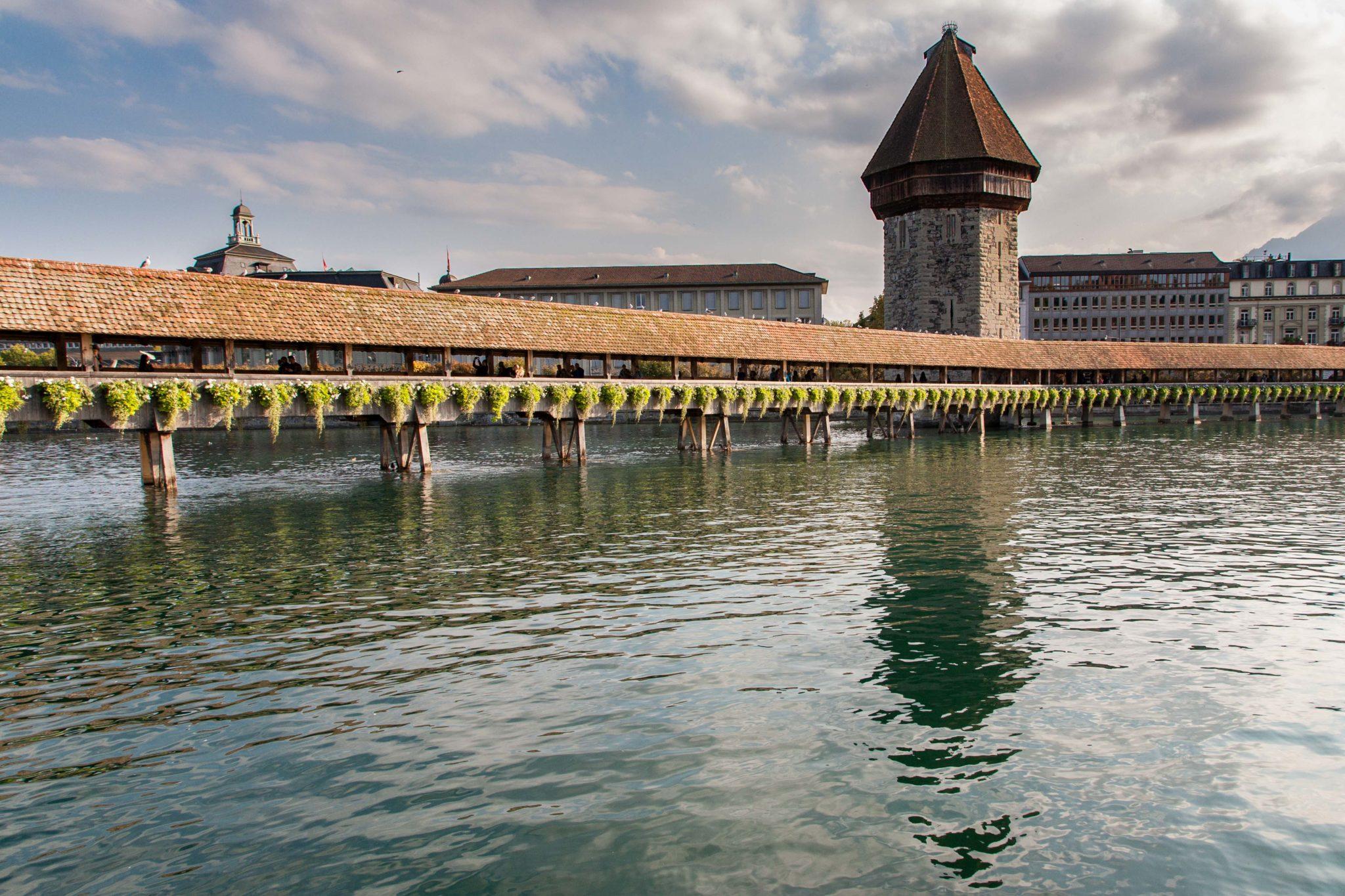 Most Klasztorny Lucerna