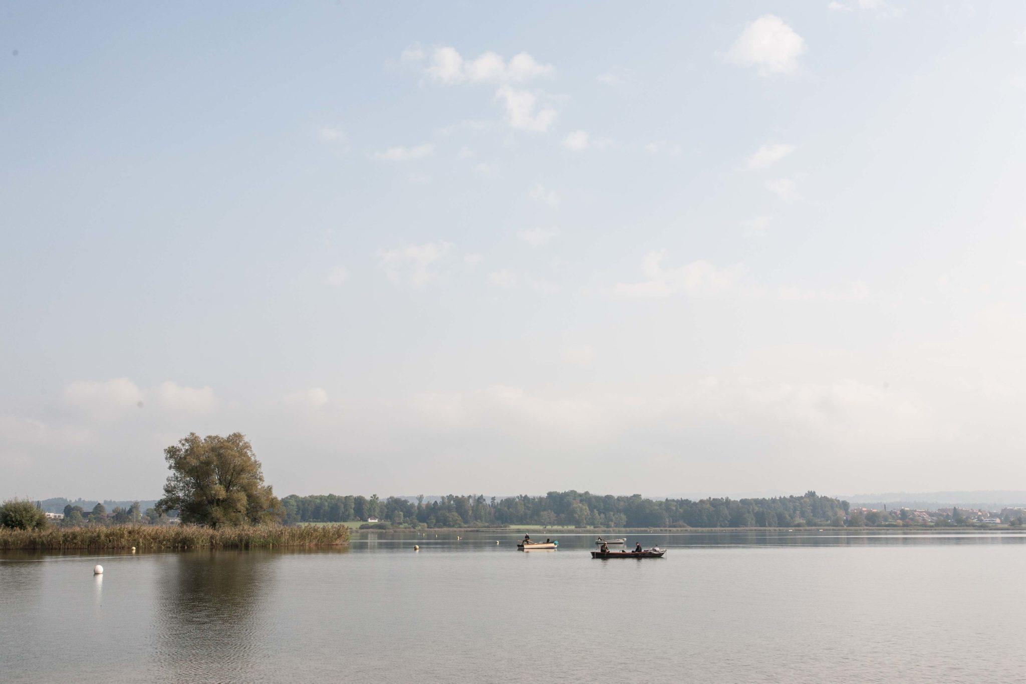 Równia pochyła i jezioro Greifensee