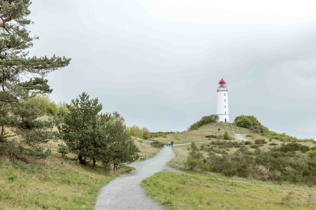 Latarnia morska na Hiddensee