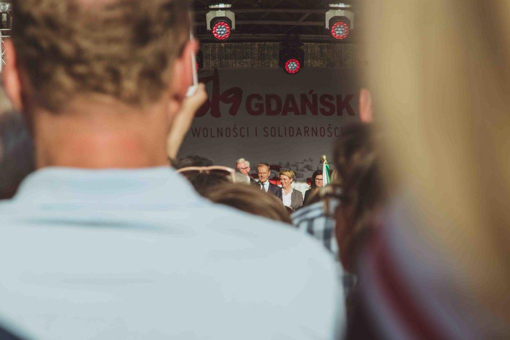 Przemówienie Donalda Tuska na Długim Targu