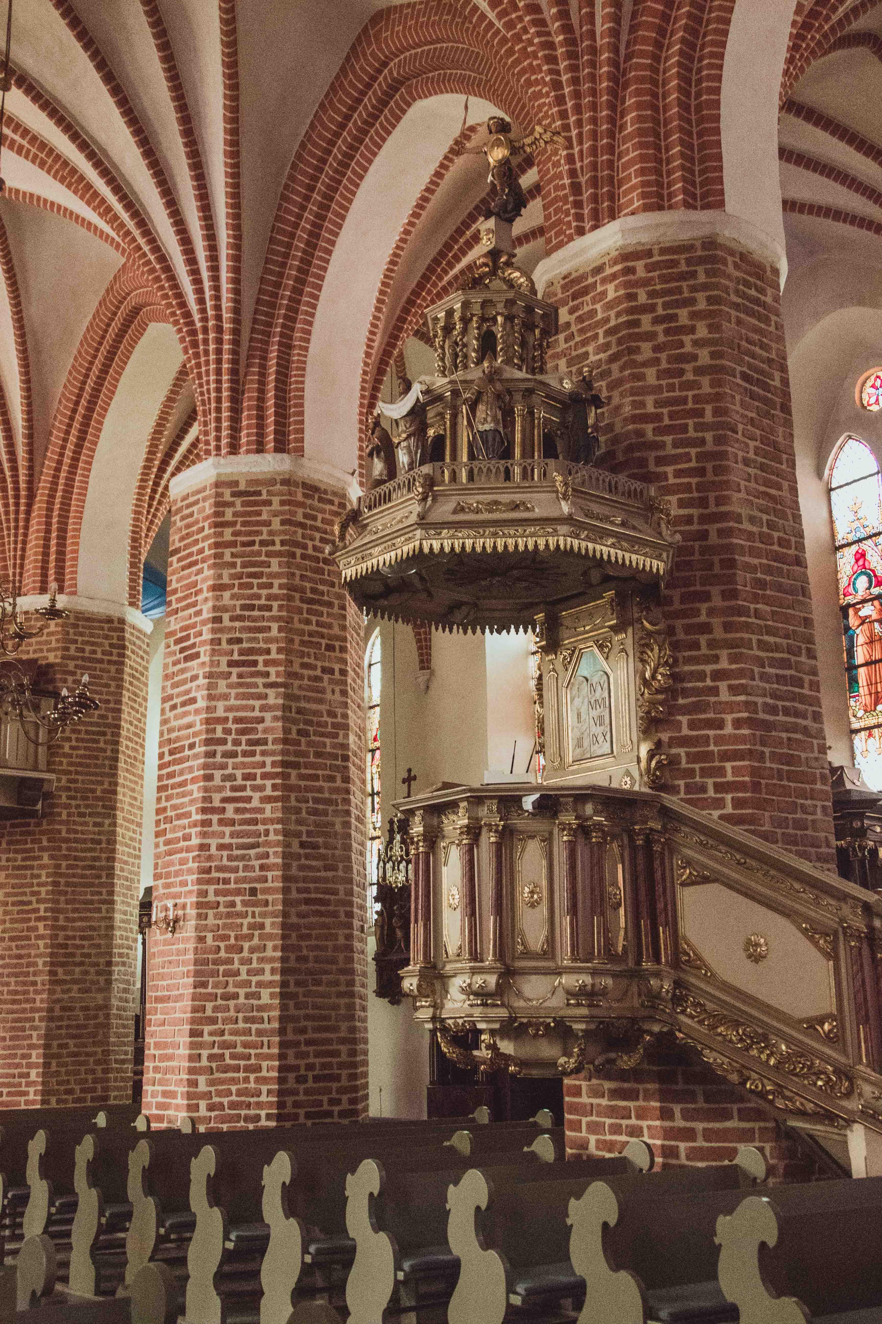 Kościół farny w Pucku