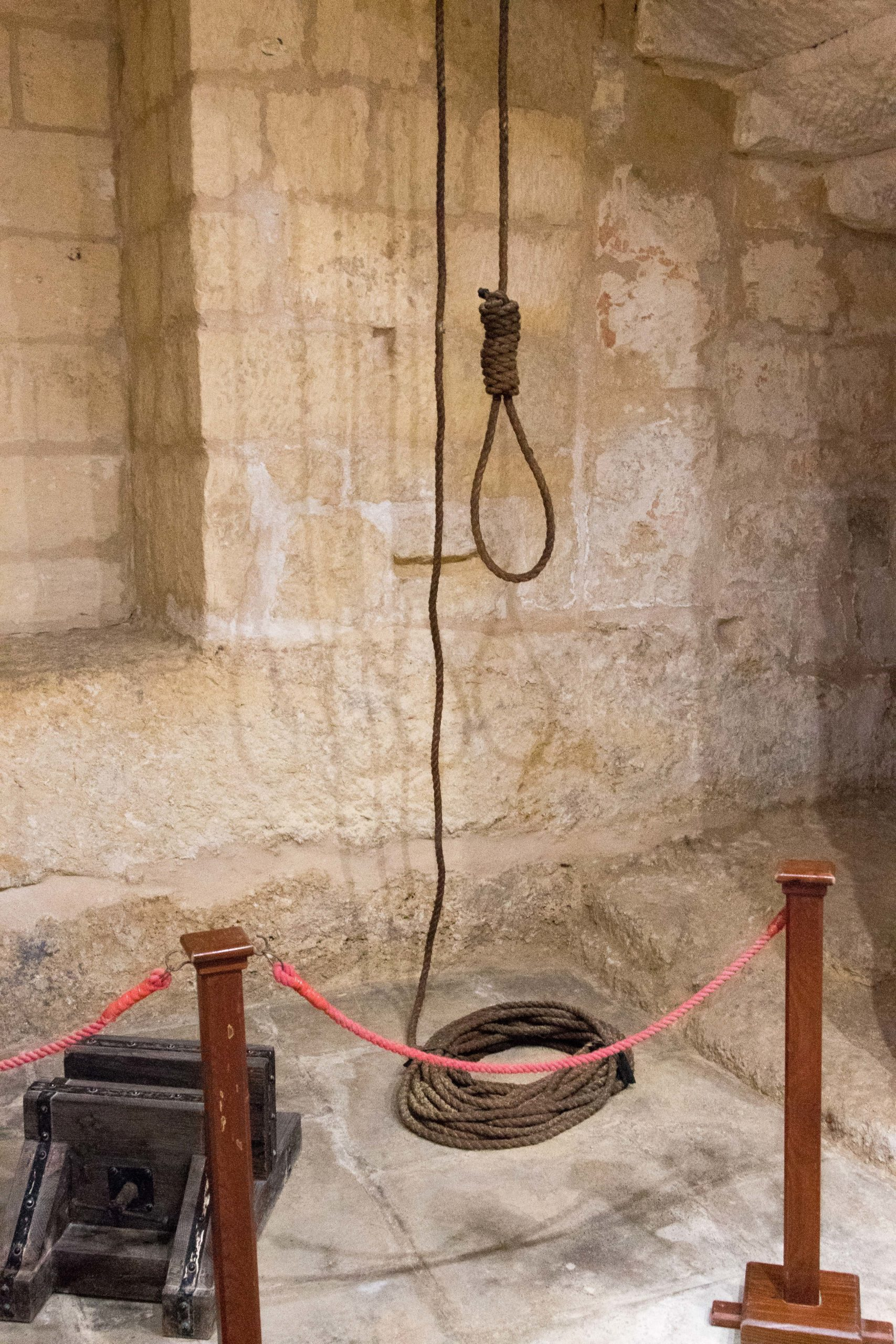 Sala tortur Pałac Inkwizytora Vittoriosa Malta