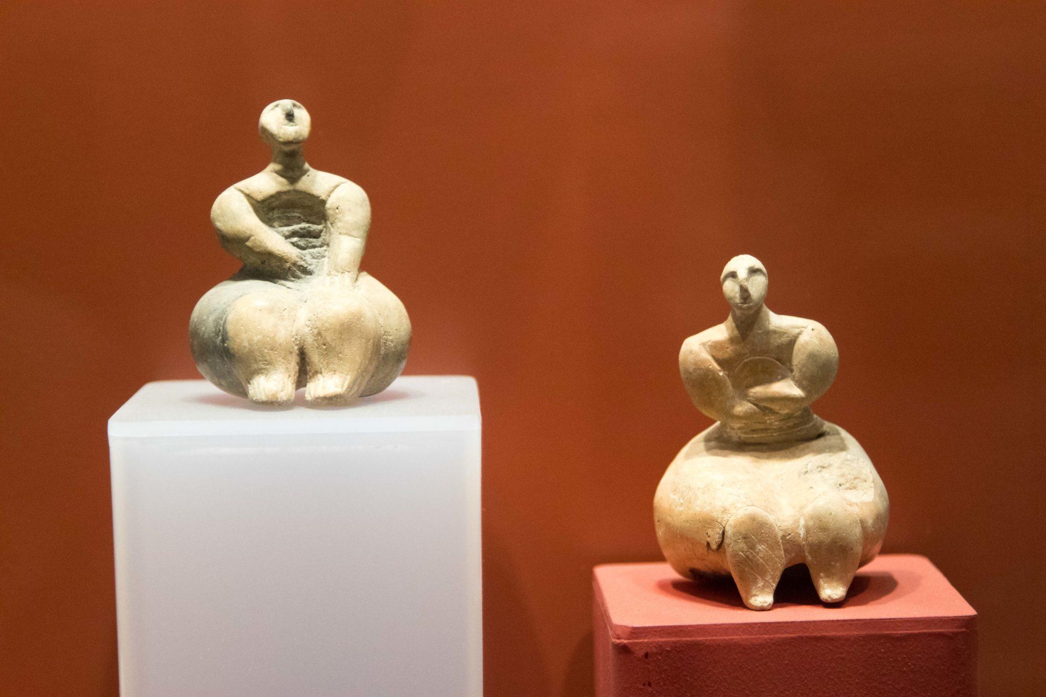 Prehistoryczne figurki, Ggantija, Gozo