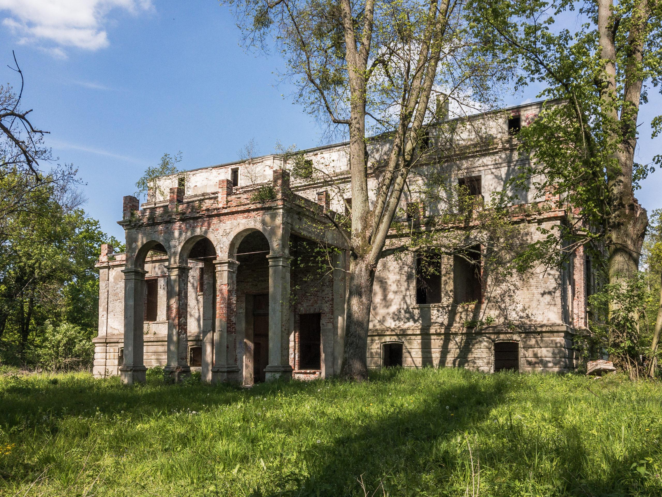 Pałac w Dębnie