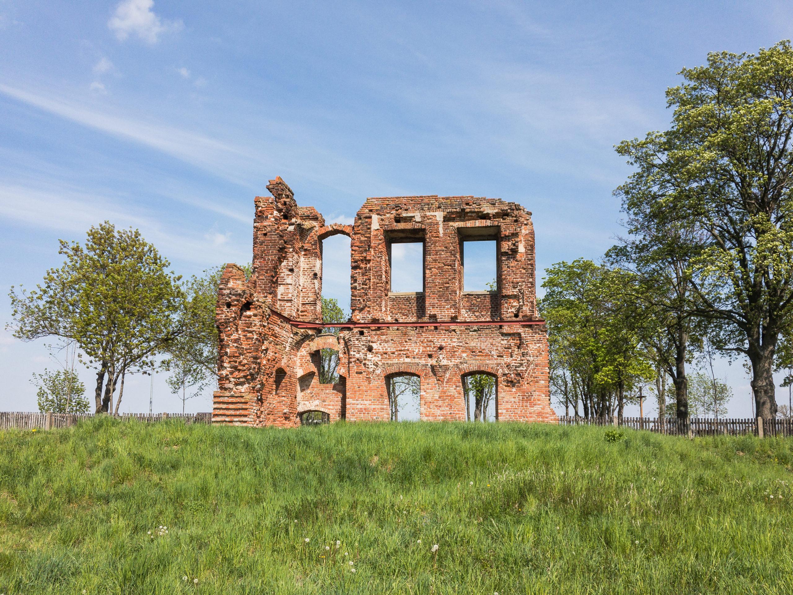 Ruiny Pałacu w Radlinie