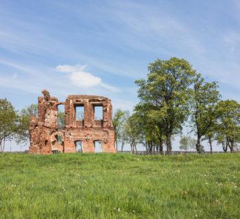 Kres i krach, czyli ruiny pałacu w Radlinie