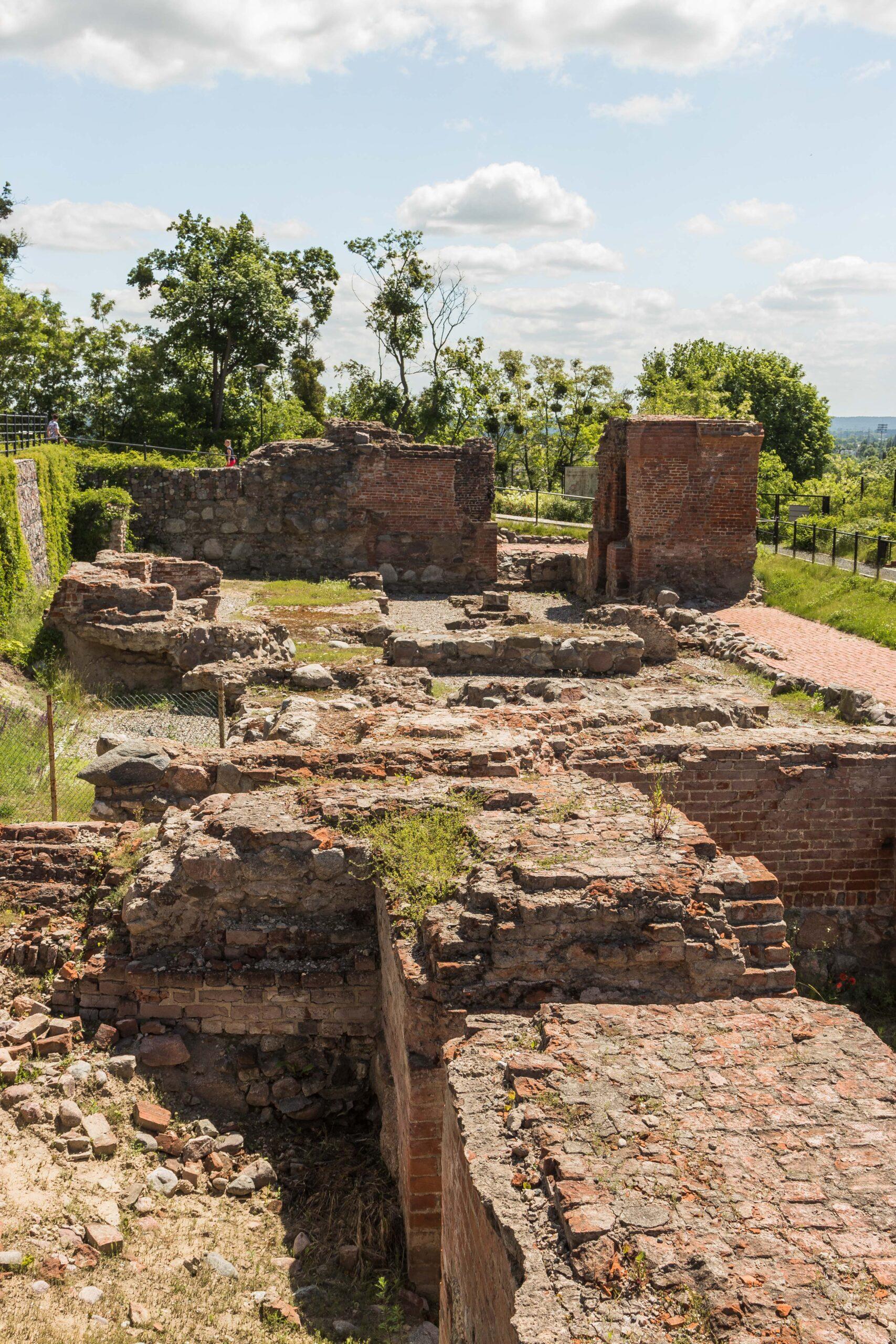 Ruiny Zamku Krzyżackiego w Grudziądzu