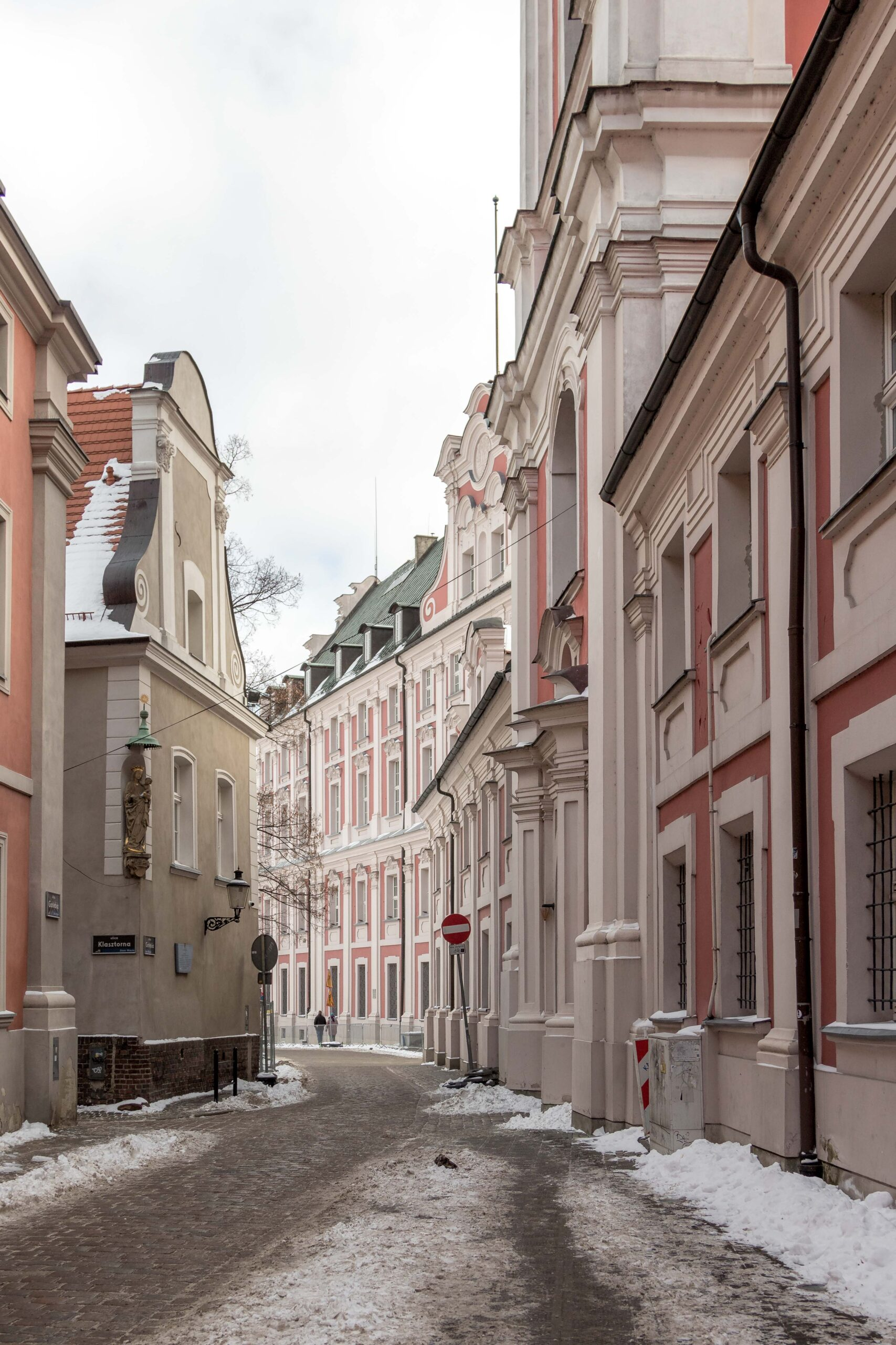 Ulica Gołębia Poznań