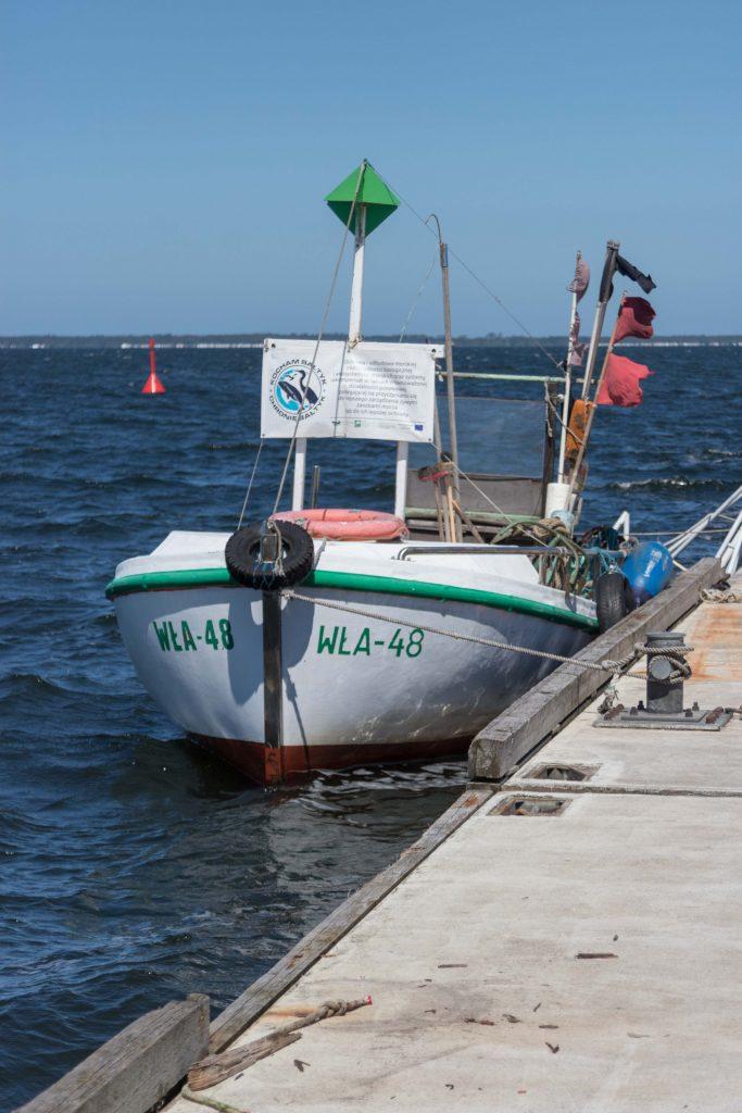Port rybacki w Pucku