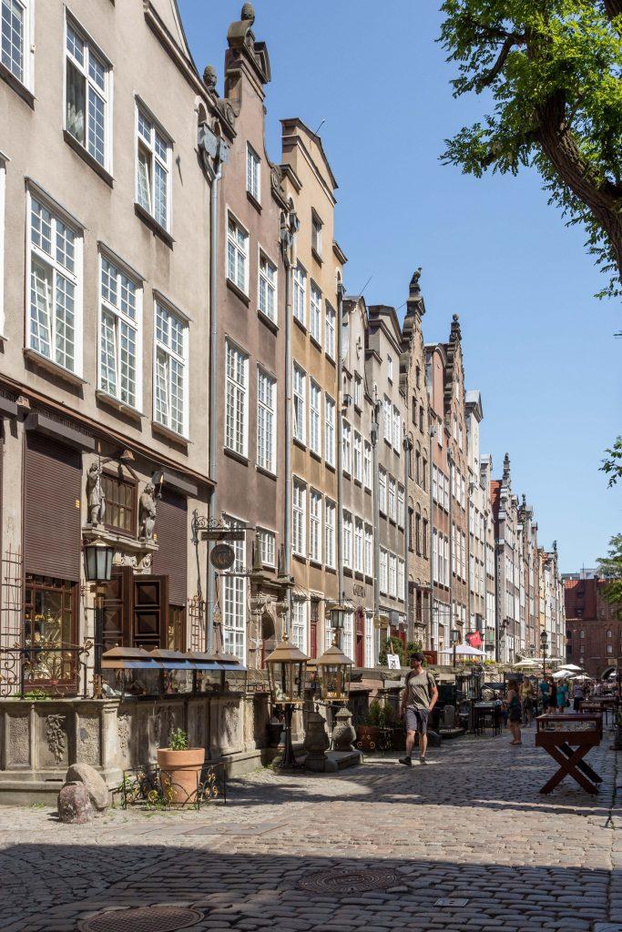 Ulica Mariacka Gdańsk