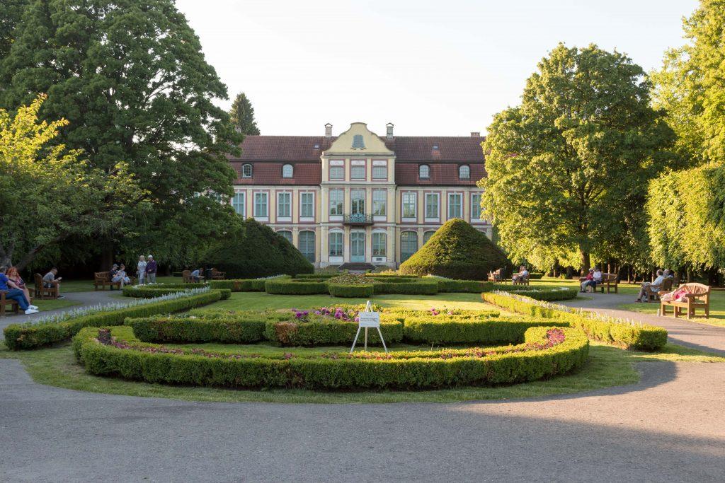 Pałac Opatów Park Oliwski Gdańsk